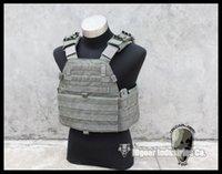 Wholesale TMC EG Assault Plate Carrier Tactical airsoft military gear Khaki TMC1781 FG Foliage green