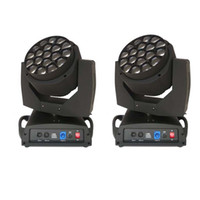 big eye stages - 2 Pack Big Eye LED Moving Head Light Beam wash effect light w RGBW Led Lamp DMX channels Stage Lighting