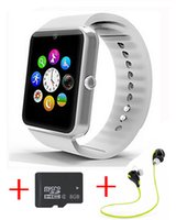 best seller gps - Best seller GT08 Bluetooth Smart Watch wearable devices Support SIM TF Card Smartwatch For apple Android OS phone pk dz09 f69