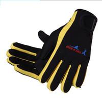 baseball equipment free shipping - Dive Sail mm Neoprene Diving Gloves High Quality Gloves for Swimming Keep Warm Swimming Diving Equipment