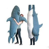 best sleeping bags - Fancytrader Pop Giant Shark Plush Toy Sleeping Bag Bite Me Sharks Tatami Sofa Bed cm cm Two Size Available Best Gift for Children