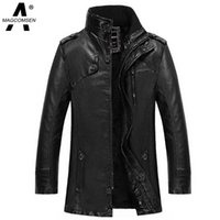 ag coat - Motorcycle Leather Jackets Men Winter Windbreaker Leather Clothing Men Leather Jackets Male Casual Jackets and Coats AG SSGB