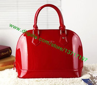 bb handbag - Top Grade Lady Embossed Patent Leather Handbag Women Allma M90175 M50415 M90102 M90975 Shoulder Bag BB Mini Size Many Colors