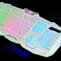 Wholesale hot sale wired keyboard backlight cf Limited edition mouse habergeons machinery gaming keyboard teethteats
