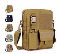 Wholesale Men s Messenger Bags Fishing Military Equipment Sport Crossbody Tactical Bag Satchel Military Bag MOLLE System Single Shoulder