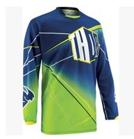 Wholesale New Thor Thor outdoor long sleeved shirt motorcycle off road mountain bike speed surrender DH Variety Breathable Anti UV