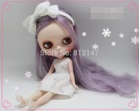 action cost - cost Nude action figure dolls purple hair