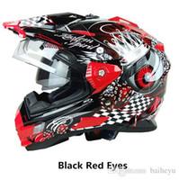 Wholesale DOT TX27 mens motorcycle helmets motocross racing helmet off road motorbike full face moto cross helmet colors and high quality