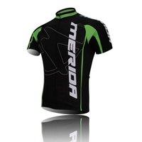 La manga de ciclo de ciclo de la BIOCAQUETA al por mayor-Nuevo del equipo de MERIDA fija la tapa de la camisa / los cortocircuitos / los sistemas de los cortocircuitos del BIBE negro