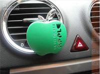 Wholesale 30pcs Car Interior Accessories Car Air Freshener Apple Shape ACar Fresheneruto Air Outlet Perfume Aromas