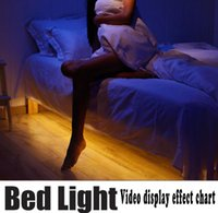Wholesale The explosion of LED intelligent induction lamp with optical infrared sensor Nightlight Bed Light bed lamp