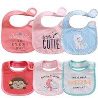 baby holly - Baby Bibs Hello Holly Baby Boys Girls Bibs Burp Cloths Great Quality layers Cotton Waterproof Set Self feeding Care