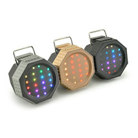 audio reader app - New JY Portable APP Control Bluetooth Speaker LED Lights FM Mic Support U disk TF card Outdoor Speaker