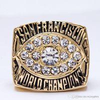 Wholesale 1981 American football San Francisco er Sale Super Bowl Replica Championship ring material VIP STR0