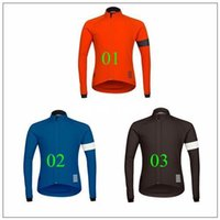 Wholesale 2015 Rapha Cycling tops outdoor sports Professional team cycling Jersey long sleeves winter fleece cycling jersey XS XL size