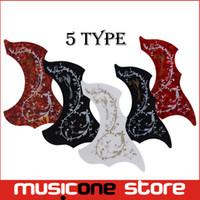 Wholesale Multi Color Hummingbird and Flower Pickguard Acoustic Guitar Pickguard Pick Guard Sticker MU1319