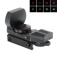 airsoft gun sight - BZ400 Reticle Electro Red Green Dot Sight Tactical Reflex Sight Rifle Scope with Mount for Airsoft Gun