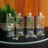 double ribbon - Glass water pipes Silent sand separator built double helix ribbon high quality mm glass hookahs Interface