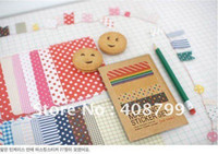Wholesale by DHL packs Colorful Cartoon DIY sticker cute sticker Sign post Label Multifunction Super gift