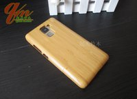 bamboo made houses - Real pure bamboo phone case for huawei honor7 mobile phone newest wood made case honor protective shell back housing wooden cover