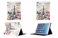 apple ipad case eiffel - For Ipad Pro Inch tablet Retro Paris La Tour Eiffel Tower Stand Leather Case Elizabeth Flip Flower Pouch London Smart Cover skin Fashion