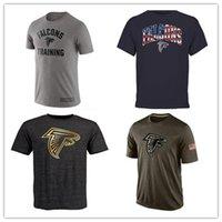 atlanta falcons shirt - Falcons T Shirts cheap rugby football jerseys Atlanta Salute To Service Banner Wave Black Gold Collection Tshirts