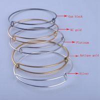 Wholesale Alex Ani k Gold silver planted Fashion Jewelry Wiring DIY Bracelet For Alex And Ani Expandable Bangles Metal Bracelets
