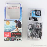 Wholesale SJ4000 SJ5000 style A9 Inch LCD Screen P Full HD Action Camera M Waterproof Camcorders SJcam Helmet Sport DV Car DVR A XJ