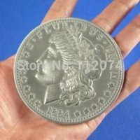 antique magic tricks - 3 quot antique Morgan coin Magic trick New classic toy coin magic fire mentalism magician