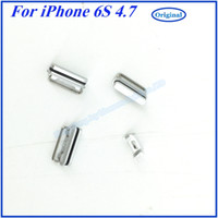 Wholesale With Tracking Code For iPhone S Side Buttons Parts Colors In Set