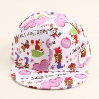 beer baseball caps - HOT High Quanlity Fashion Adjustable Pink Heart Beer Print Sun Baseball Hat Cap Women Caps Gift For Women Girls