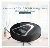 air brush color - Eworld Mini Robot Vacuum Cleaner Smart Robotic Cleaner for Home Black Color with Automatic Recharge Side Brushes
