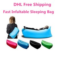 Cheap Fast Inflatable Lamzac Hangout Lounger Air Sleep Camping Sofa KAISR Beach Nylon Fabric Sleeping Bag Bed Lazy Chair ourdoor