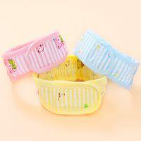 Wholesale Pure Cotton Cartoon Adjustable Diaper Bandage Nappy Belt