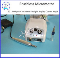 Wholesale 2016 New Dental rpm Brushless Micromotor Grinding Machine For Mechanic Clinical treatment Tooth Writening Denture Polishing