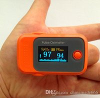 Wholesale PO FR NEW Fingertip OLED Display Pulse Oximeter with Audio Alarm Pulse Sound ROSE Spo2 Monitor