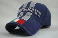 ball racer - Men women for DUCATI F1 MOTO GP motorcycle racer cap hat golf sunhat blue black