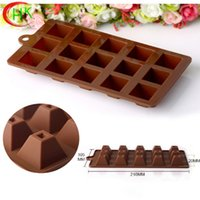 Wholesale 2016 new autumn and winter and the new style of the new model of health and Kang chocolate silicone mold silicone rubber baking mold economi