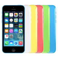 Wholesale Refurbished Original Apple iPhone C Unlocked MobilePhone IOS8 inch IPS GB GB GB MP P GPS WIFI G LTE Smartphone