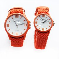 automatic knitting - 2016 Top Selling Girls Knitting Watch Colorful Women Watches With Bracelet Wrist Band Ladies Roman Numerals Quartz Watch