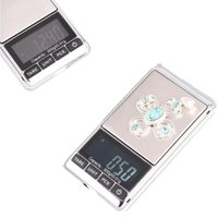 Wholesale Accurate g x g Mini Digital Scales Jewelry Pocket Gram Scale Weight Balance H1791