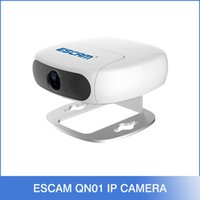 Wholesale Cctv Cameras Cars - Escam Shell QN01 Wifi Mini Household IP Camera 1.0MP HD 1080P Onvif P2P indoor Night Vision Security CCTV Camera work for car