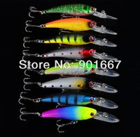 Wholesale 2013 Classic Fishing Lures colors CM g fishing bait hard bait with hook fishing tackle fee shipping