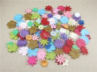 Wholesale Approx MM Paper Daisy Flowers Hair Head Accessories die cut for sticker