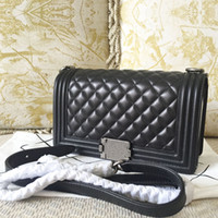 Wholesale Fashion Women Leather Crossbody Designer Handbag Cover Plaid Chain Ladies Shoulder Bags Classic Messenger Bags C2121