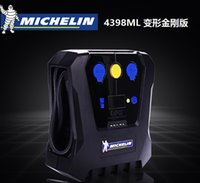 Wholesale protable air compressor air pump car tyre inflator tyre inflatable pump Michelin ml for automobiles motorcycles with Digital Led