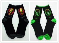 animal hulk - new mens womens cotton Jacquard Men s Socks of Avenger Union hulk Captain America Superman Batman ironman Street Tide crew knee high Socks