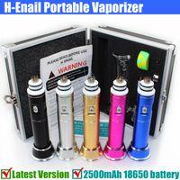 herbal vaporizer - Lastest Version G9 H Enail Dry Herb Wax herbal vaporizer glass bong mah Titanium chamber dabber Coil DNail E Nail Henail vape kits