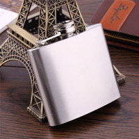 Wholesale 5 oz Stainless Steel Hip Flask Liquor Whisky Alcohol Cap Funnel Drinkware For Drinker Hip FlasK