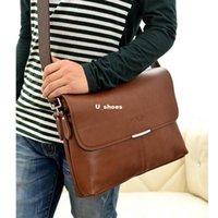 Wholesale Male Fashion Business Casual Men s Leather Bag Shoulder Medium cm Messenger Bag Men s Version Of The Cross